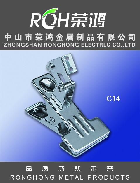 金属夹图片-型号为C14-又称金属弹簧夹,主要表面处理有:各种电镀、喷涂等
