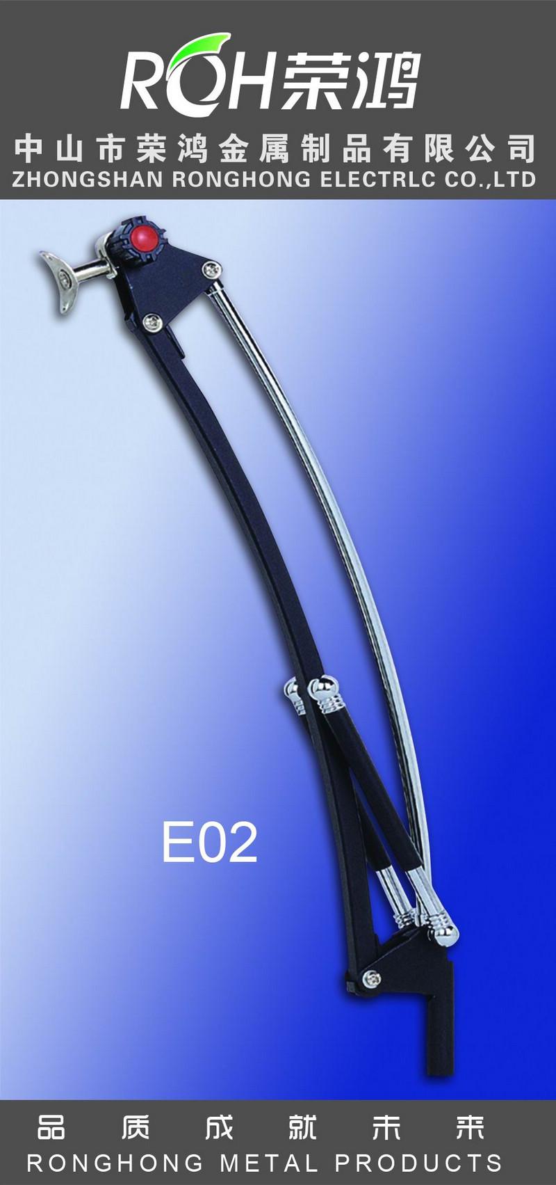 摇臂支架图片-型号为E02-表面处理主要有:各种电镀、喷涂等