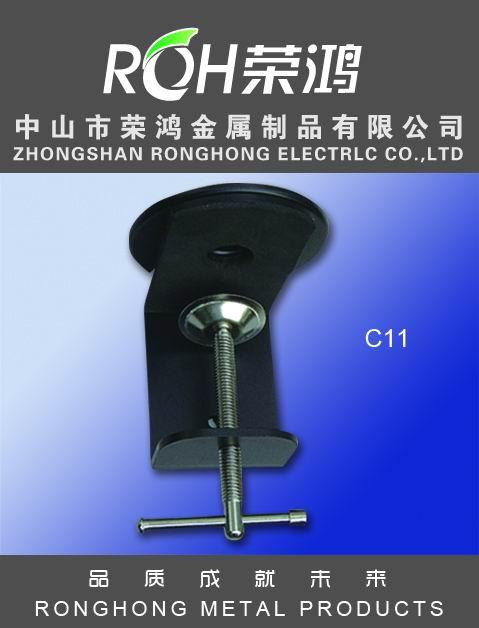 金属夹图片-型号为C11-亦称铁皮夹,表面主要电镀、喷涂等处理