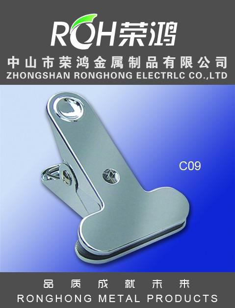 金属夹图片-型号为C09-又称金属弹簧夹,主要有各种电镀、喷涂等表面处理